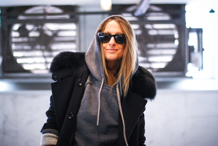 street style hoodie