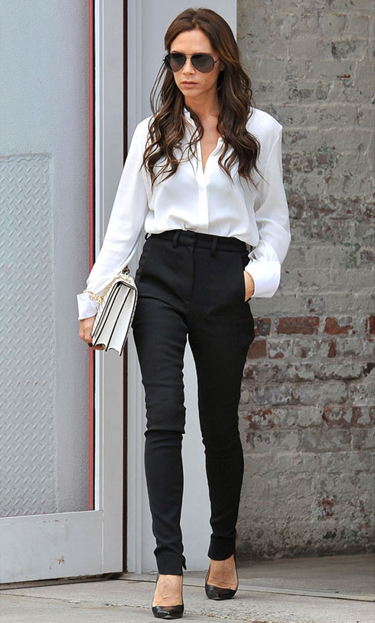 Style Tips To Help You... Victoria Beckham Style