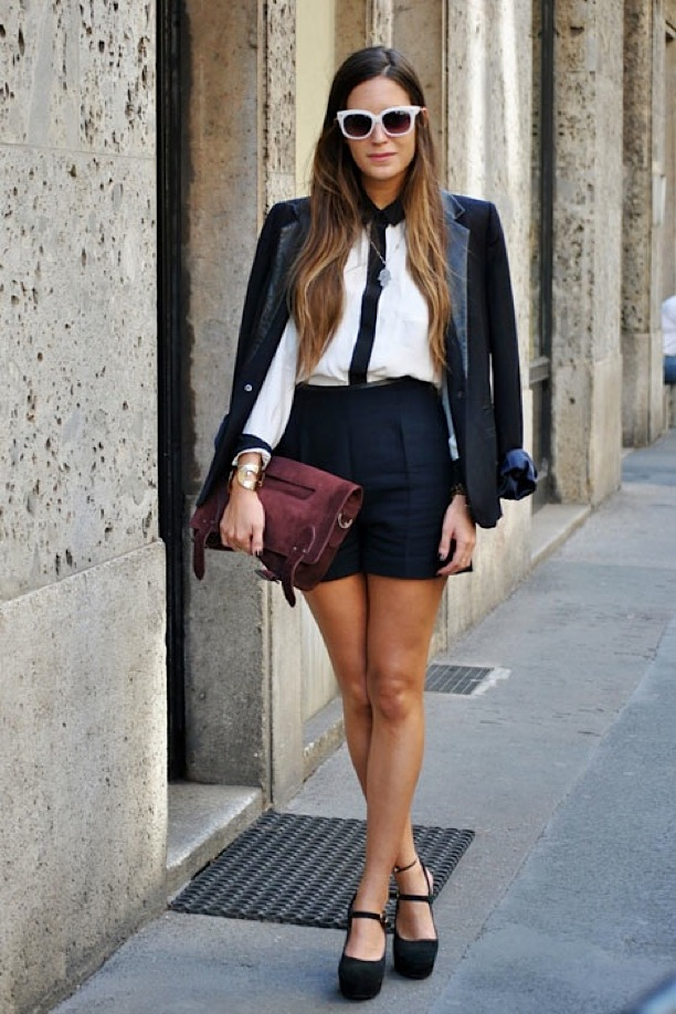 10 Ways To Wear A Short Suit Lauren Messiah