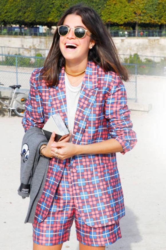 street style short suit