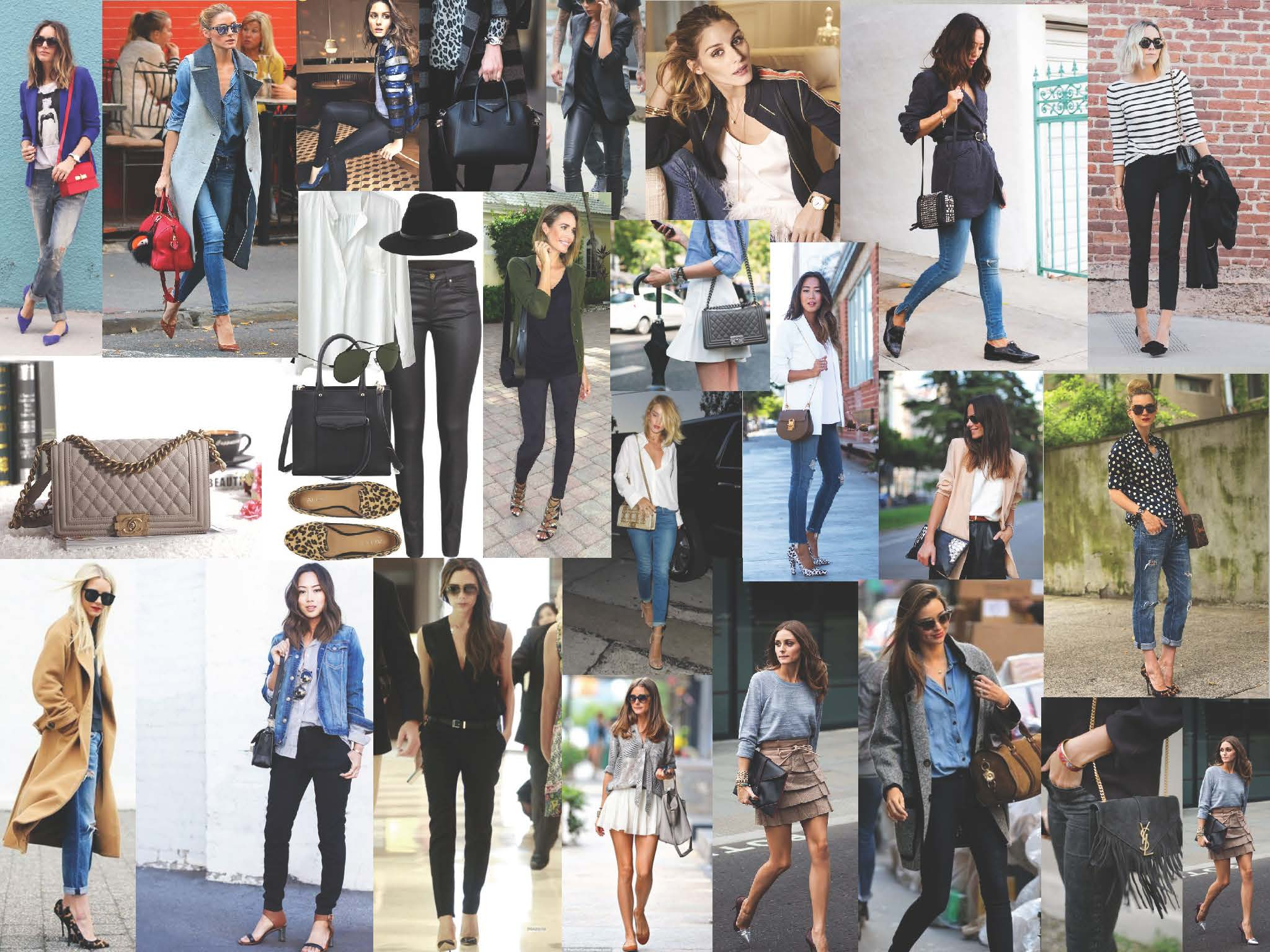 personal styling mood board