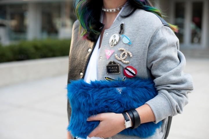 toronto-fashion-week-street-style-2016-alexander-wang-bomber-rainbow-hair4-e1458872361650